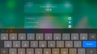Tipp: Der iPad-Taschenrechner, in iOS integriert