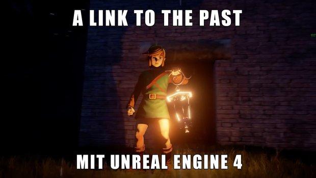 Wunderschönes Zelda: So sieht Link to the Past mit der Unreal Engine 4 aus