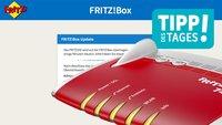 Fritz!Box-Einstellungen aufrufen und Update installieren, so gehts
