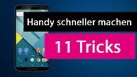 Handy schneller machen – Unsere 11 besten Tipps & Tricks