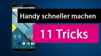 Handy schneller machen: 11 Geschwindigkeits-Tricks, die funktionieren