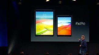 Neues iPad vorgestellt: Das iPad Air ist tot, es lebe das kleine iPad Pro
