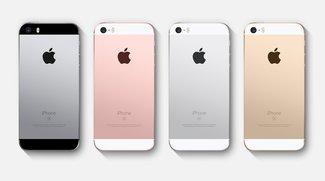 iPhone SE Farben: Spacegrau, Roségold, Silber und Gold in der Übersicht
