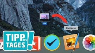 Tipp: Dateien auf dem Mac über das Dock-Icon öffnen