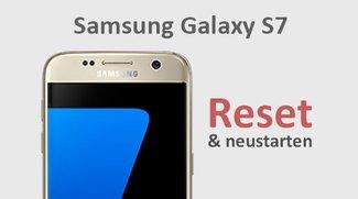Samsung Galaxy S7 (edge): Reset und neustarten – so gehts