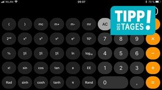 Der versteckte komplexe Taschenrechner des iPhones