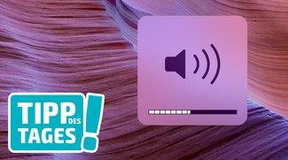 Mac-Tipp: Lautstärke, Bildschirmhelligkeit und Tastaturbeleuchtung in kleineren Schritten feinabstimmen