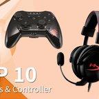 Top 10 Headsets und Controller aus der eBay Gaming-Welt