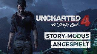 Uncharted 4: Wir haben den Story-Modus für euch angespielt – und das war unser Eindruck