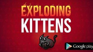 Exploding Kittens: Schräges Kartenspiel jetzt auch für Android erhältlich