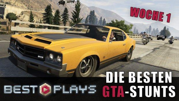 GTA Best Plays: Das sind die besten Stunts aus der ersten Woche im Video