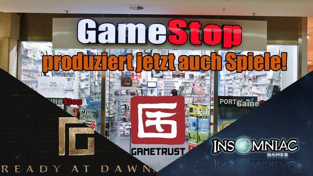 GameStop: Mischt sich mit GameTrust künftig unter die Spiele-Publisher