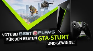 """Vote für den besten """"GTA 5""""-Stunt und gewinn ein Nvidia Shield TV zum Zocken"""