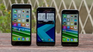 HTC 10 vs. iPhone 6s: Edel-Smartphones im Video-Vergleich