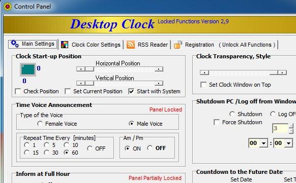 Voice-Desktop-Clock