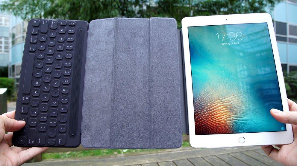iPad Pro 9.7 mit Smart Keyboard