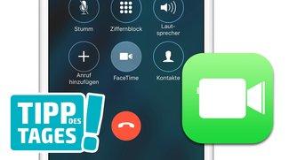 Datenverbrauch eines FaceTime-Anrufes auf dem iPhone herausfinden (Tipp)