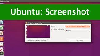 Ubuntu-Screenshot: Tastenkombination zum Erstellen