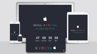 WWDC 2016: Wallpaper (iPhone, iPad, Mac) und Countdown-Widget (Mac) zum Download
