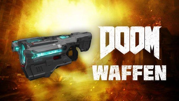 Exklusiver Einblick in Doom: Wir zeigen euch, welche Design-Ideen hinter den Waffen stecken