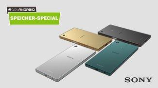 Sony-Smartphones: So viel Speicher bleibt euch wirklich