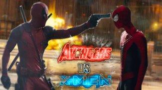In diesem abgefahrenen Mash-Up-Trailer kämpfen die Avengers gegen die X-Men