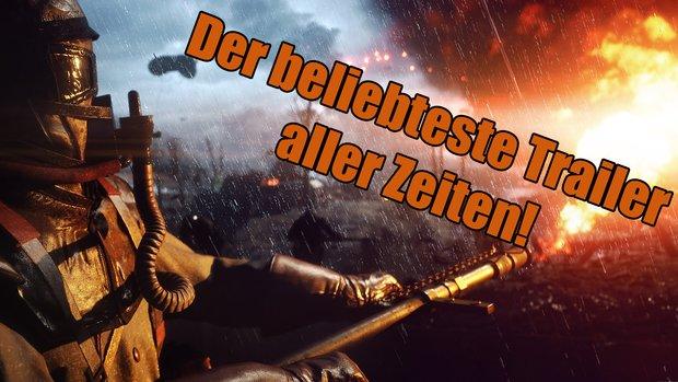 Battlefield 1: Ist jetzt der Trailer mit den meisten Likes aller Zeiten