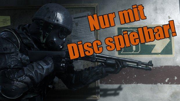 Call of Duty Modern Warfare Remastered: Wird angeblich Disc-Zwang besitzen