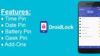 DroidLock: Dynamisches Passwort nach Uhrzeit, Datum oder Akku
