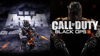 Arma 3 & Black Ops 3 (MP) sind dieses Wochenende kostenlos auf Steam spielbar