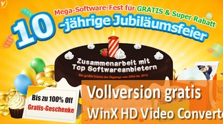 Vollversion: WinX HD Video Converter