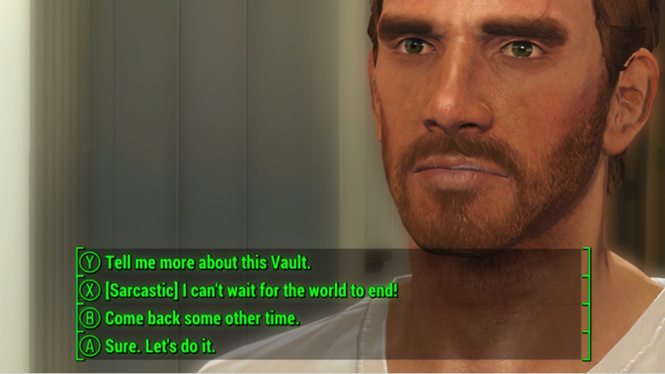 Image result for Full Dialogue Interface fallout 4 mods