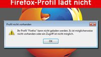 Lösung: Ihr Profil Firefox kann nicht geladen werden – Fehler beheben