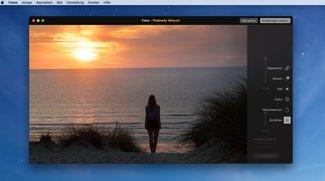 Pixelmator mit Retusche-Erweiterung, GraphicConverter mit Collagen und Gesichtserkennung