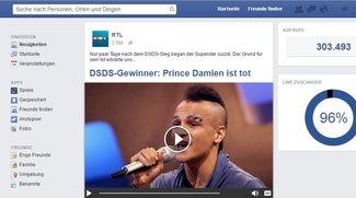 DSDS-Sieger Prince Damien tot: Warnung vor Facebook-Meldung