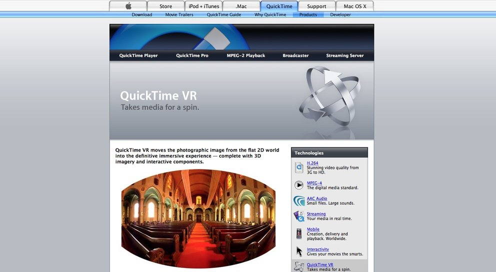 Quicktime home movie trailers