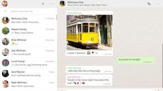 WhatsApp-Client-Software jetzt für Mac und PC erhältlich