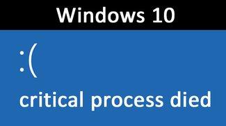 Windows 10: Critical Process Died – so behebt ihr den Fehler