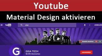Youtube: Material Design aktivieren – So geht's