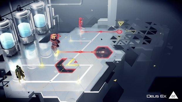 Deus Ex GO: Strategiespiel kommt im Sommer für iOS und Android