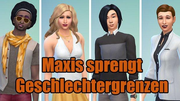 Die Sims 4: Geschlechtergrenzen aus dem Spiel entfernt