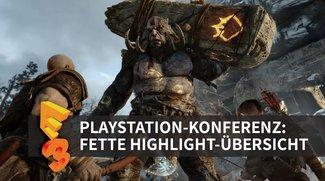 Sony auf der E3 2016: Ankündigungen und Trailer der PlayStation-Pressekonferenz im Überblick
