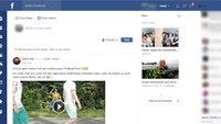 Flatbook: So nutzt ihr Facebook im neuen Design und ohne Werbung