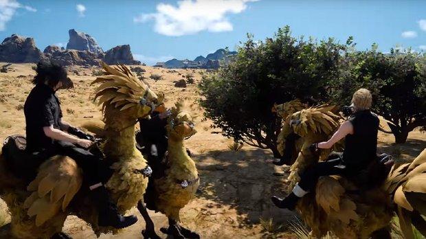 Final Fantasy XV: Reichlich Infos und ein Gameplay-Video von den knuffigen Chocobos