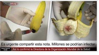 HIV-Bananen: Warnung auf Facebook - Was soll das?