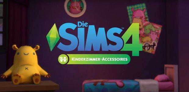 Die Sims 4 - Kinderzimmer-Accessoires: Inhalt und Trailer vorgestellt