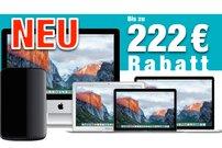 Mac kaufen und bis zu 222 Euro Sofortrabatt sichern! (Gültig bis 26. Oktober 2016)</b>