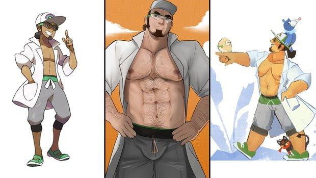 Der neue Pokémon-Professor ist, ähm, heiß?