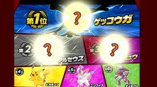 Japan hat seine 100 Lieblings-Pokémon gewählt. Und das Ergebnis überrascht.