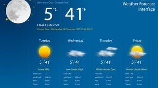 Wetter-App kostenlos für Windows 10: Das sind unsere Favoriten